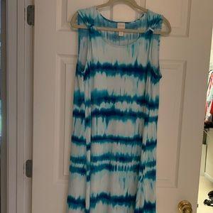Chico's Trapeze Sleeveless dress size 3